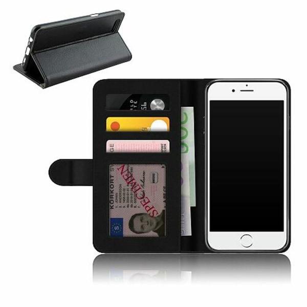 Apple iPhone 7 Plånboksfodral Statement Wolf 1055
