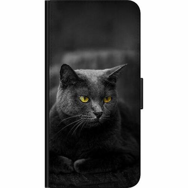 Xiaomi Mi 10T Pro 5G Billigt Fodral Black Cat