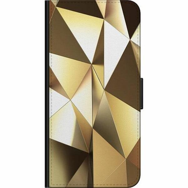 Apple iPhone XS Max Billigt Fodral Golden Pattern