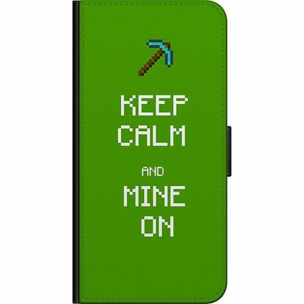 Samsung Galaxy A50 Billigt Fodral MineCraft Rainbow