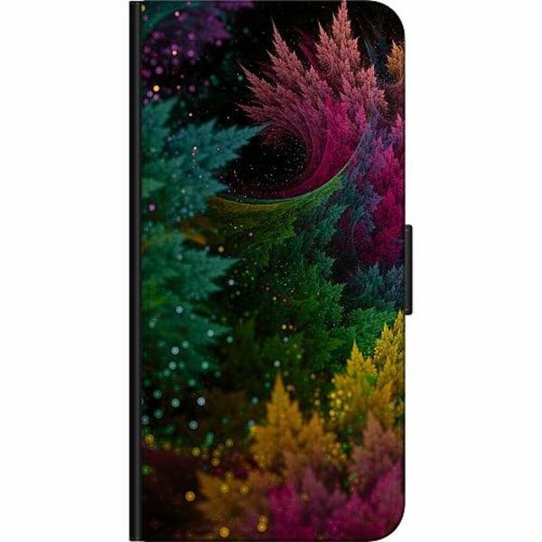 Apple iPhone 12 mini Billigt Fodral Pixel Forest