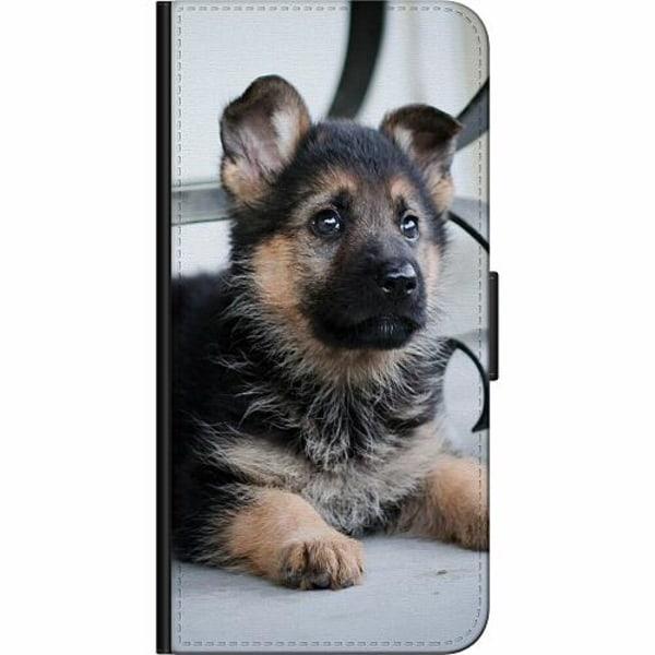 Apple iPhone XS Max Billigt Fodral Schäfer Puppy