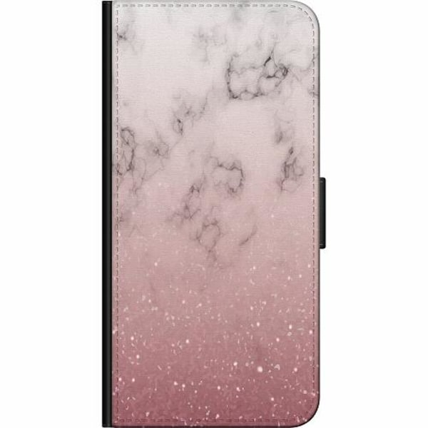Samsung Galaxy A20e Billigt Fodral Soft Pink Marble