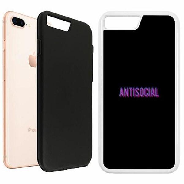 Apple iPhone 7 Plus Duo Case Vit Antisocial