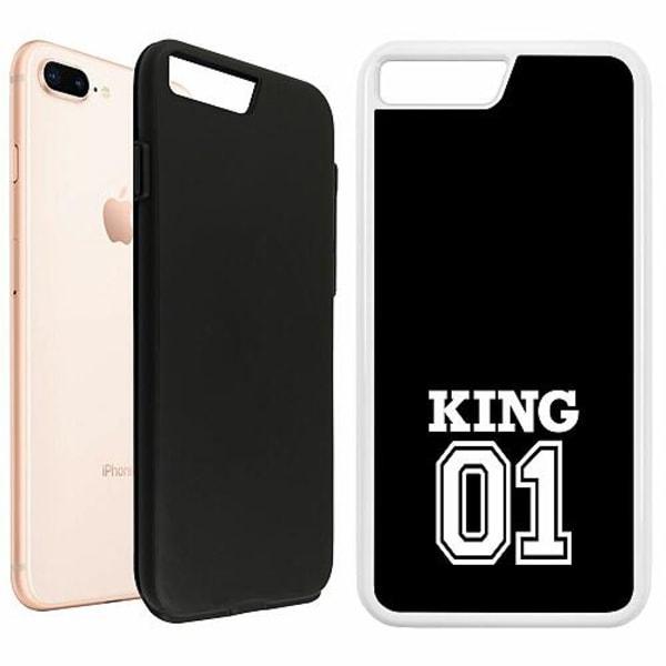 Apple iPhone 7 Plus Duo Case Vit King 01