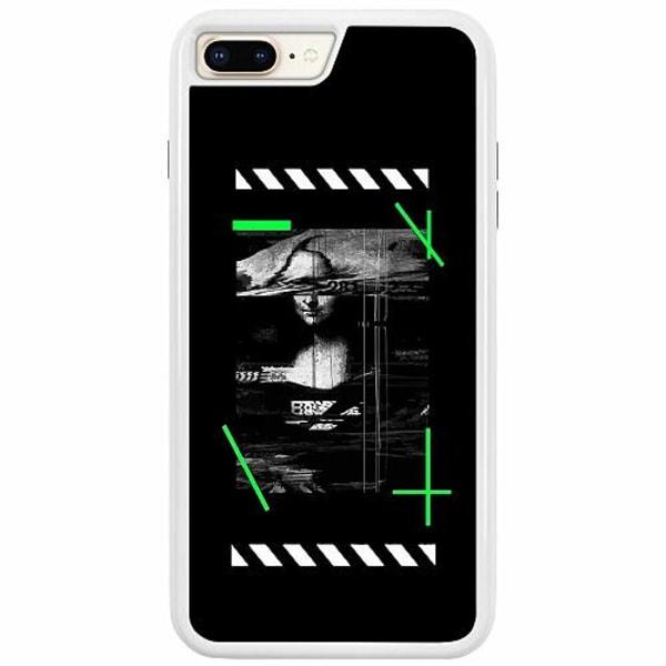 Apple iPhone 7 Plus Duo Case Vit Mona L