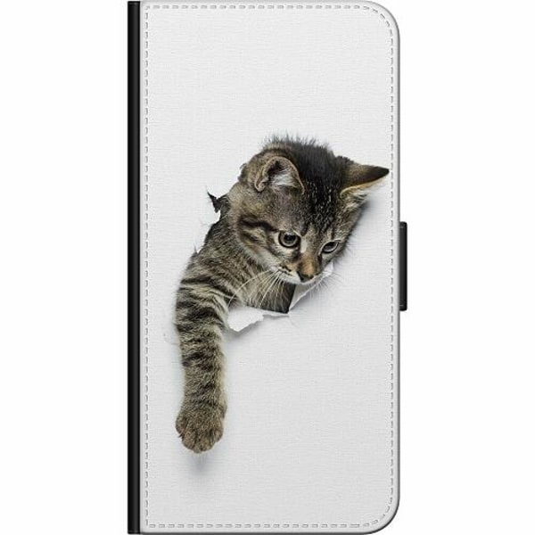 Samsung Galaxy A20e Fodralväska Katt
