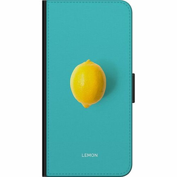 Samsung Galaxy A21s Fodralväska Lemon