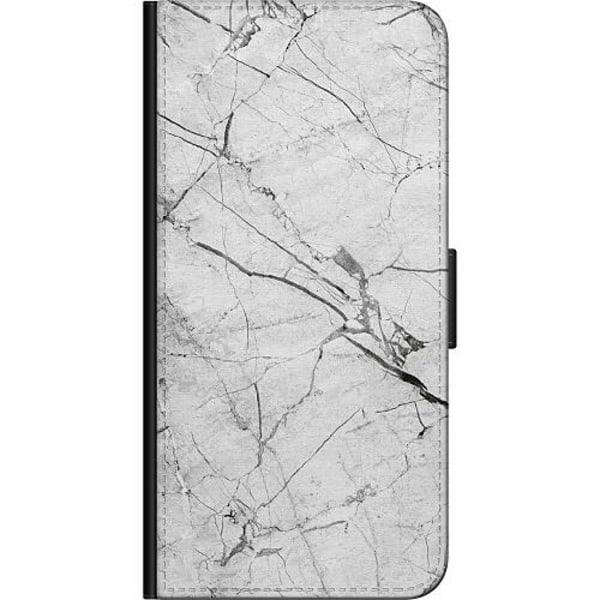 Xiaomi Mi 10 Fodralväska Marmor Vit