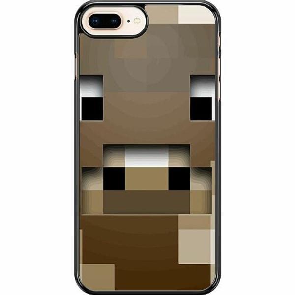 Apple iPhone 7 Plus Hard Case (Svart) MineCraft