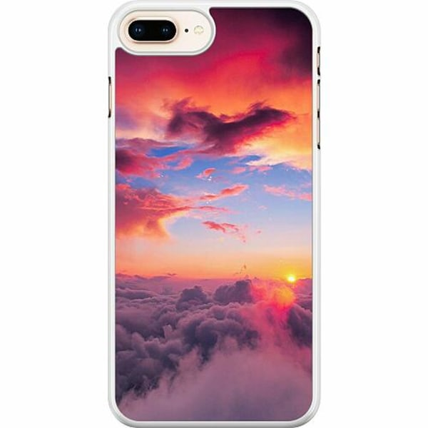 Apple iPhone 7 Plus Hard Case (Vit) Lovely Sky