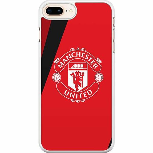 Apple iPhone 7 Plus Hard Case (Vit) Manchester United FC
