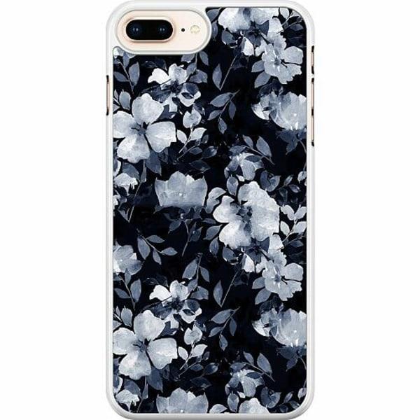 Apple iPhone 7 Plus Hard Case (Vit) Moonlight Meadow