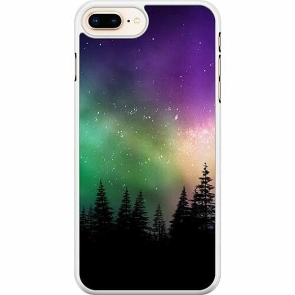 Apple iPhone 7 Plus Hard Case (Vit) Northern Lights