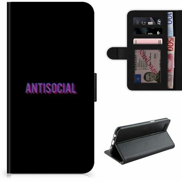 Apple iPhone 5 / 5s / SE Lyxigt Fodral Antisocial