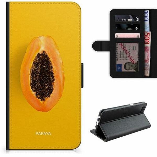 Apple iPhone XR Lyxigt Fodral Papaya