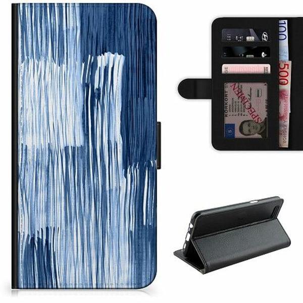Apple iPhone 5 / 5s / SE Lyxigt Fodral Rain On Windowsill