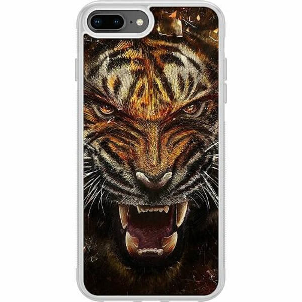 Apple iPhone 7 Plus Soft Case (Frostad) Angry Tiger