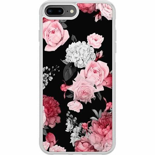 Apple iPhone 7 Plus Soft Case (Frostad) Floral Bloom