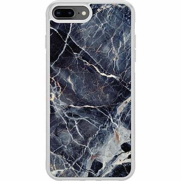 Apple iPhone 7 Plus Soft Case (Frostad) Marbled