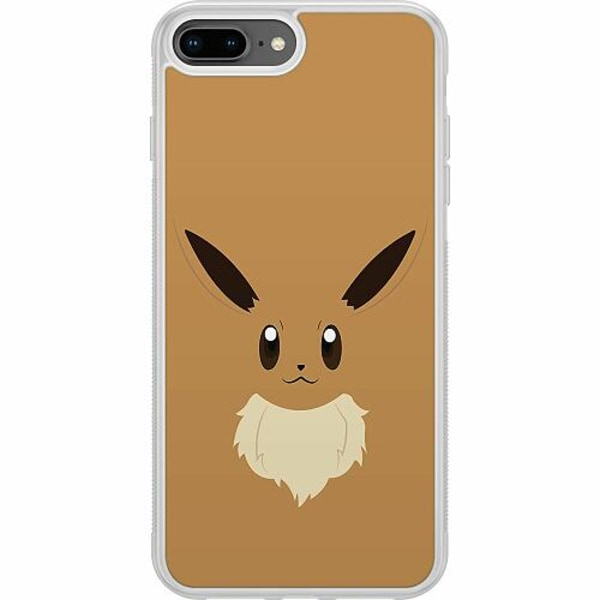 Apple iPhone 7 Plus Soft Case (Frostad) Pokémon - Eevee