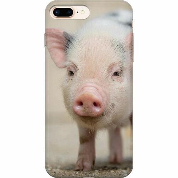 Apple iPhone 7 Plus Thin Case Happy Pig