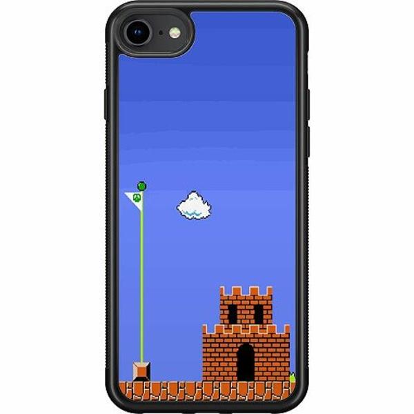 Apple iPhone 7 Soft Case (Svart) Mario