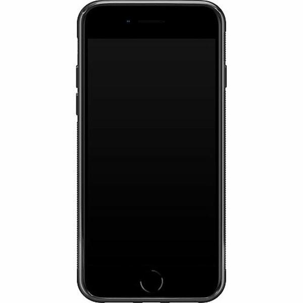 Apple iPhone SE (2020) Soft Case (Svart) Grön