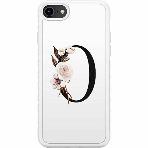 Apple iPhone 8 Soft Case (Vit) Bokstäver