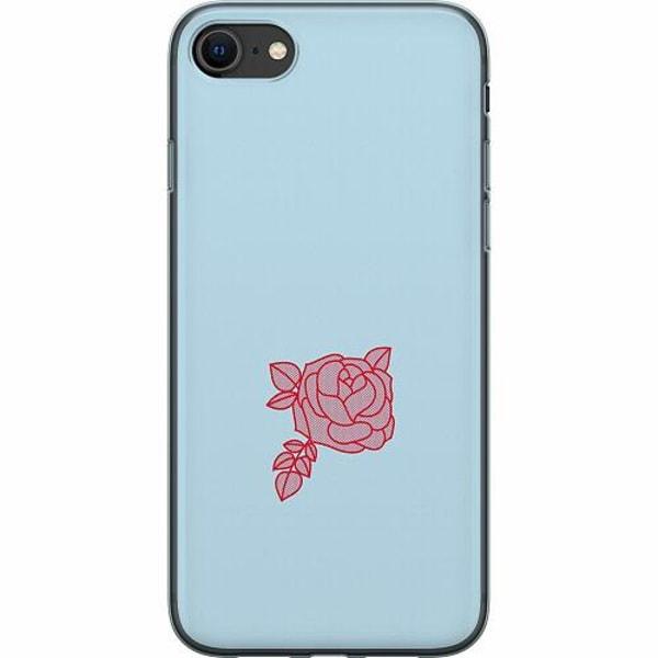 Apple iPhone SE (2020) Mjukt skal - Rose