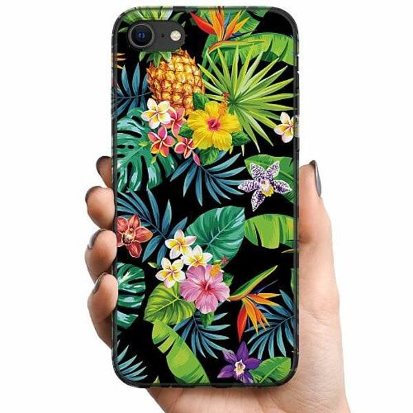 Apple iPhone 7 TPU Mobilskal Tropical Vibe