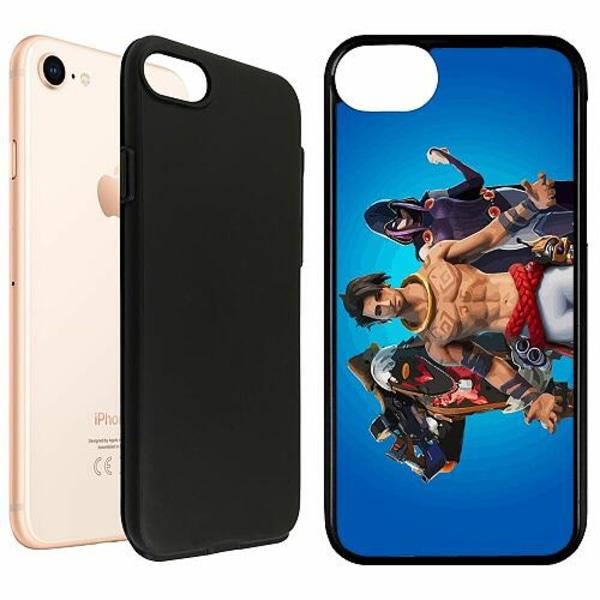 Apple iPhone 7 Duo Case Svart Fortnite 2021