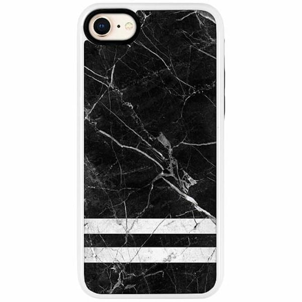 Apple iPhone 7 Duo Case Vit Marmor