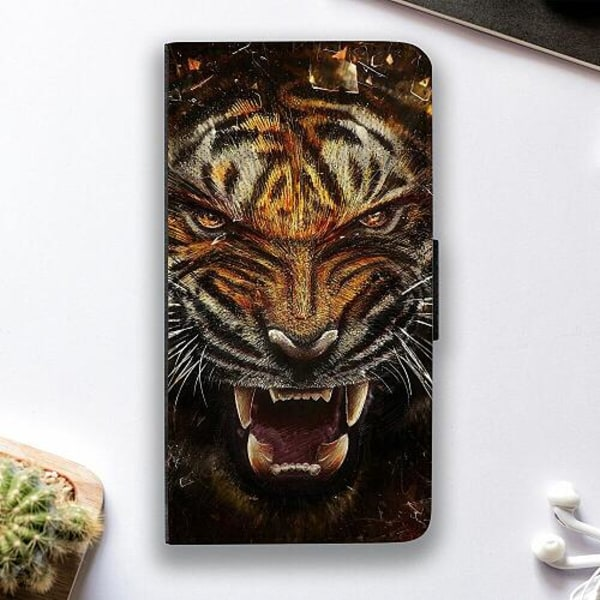 Huawei P30 Pro Fodralskal Angry Tiger