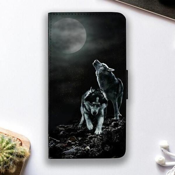 Samsung Galaxy S21+ Fodralskal Howling Wolves