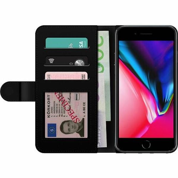 Apple iPhone 8 Plus Billigt Fodral Glitter