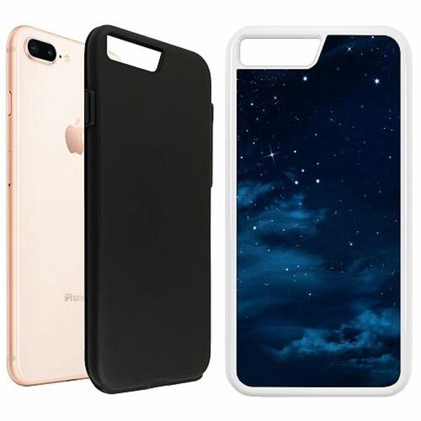 Apple iPhone 7 Plus Duo Case Vit Himmel