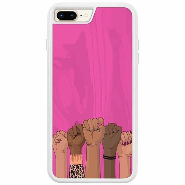Apple iPhone 7 Plus Duo Case Vit International Women's Day