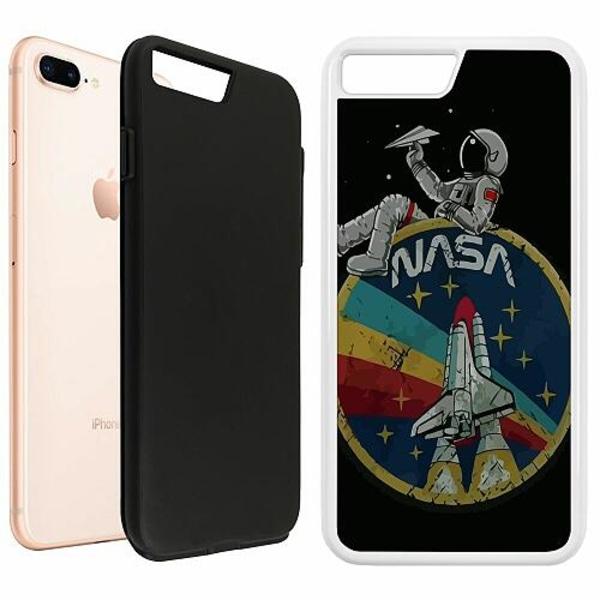 Apple iPhone 7 Plus Duo Case Vit Nasa