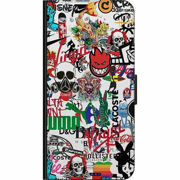 Apple iPhone 8 Fodralväska Stickers