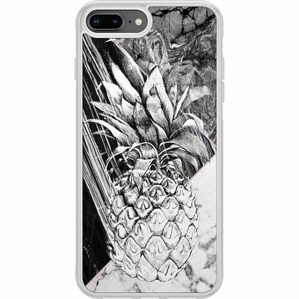 Apple iPhone 7 Plus Soft Case (Frostad) Ananas