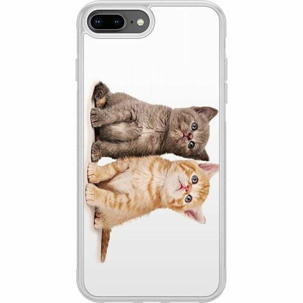 Apple iPhone 7 Plus Soft Case (Frostad) Katter