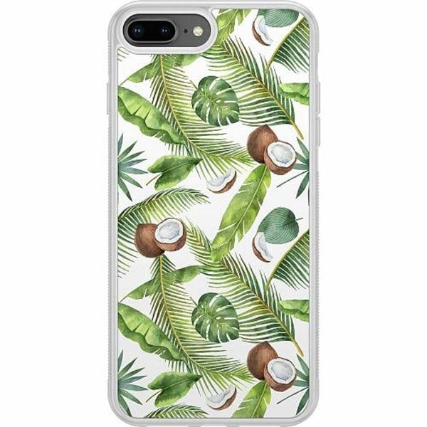 Apple iPhone 7 Plus Soft Case (Frostad) Kokosnöt