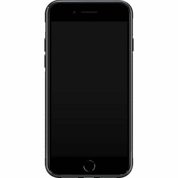 Apple iPhone 8 Plus Soft Case (Svart) MineCraft