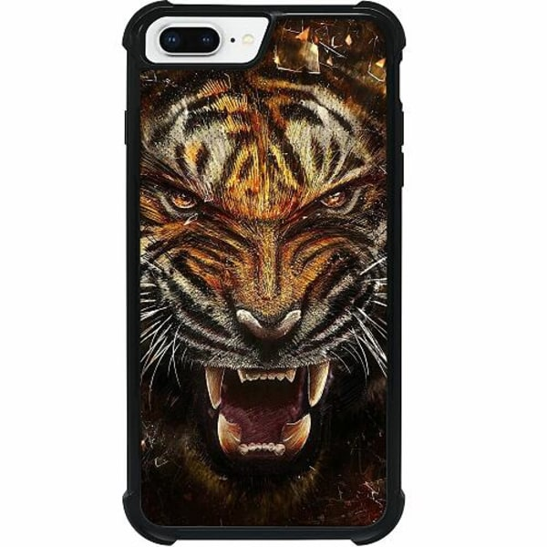 Apple iPhone 8 Plus Tough Case Angry Tiger