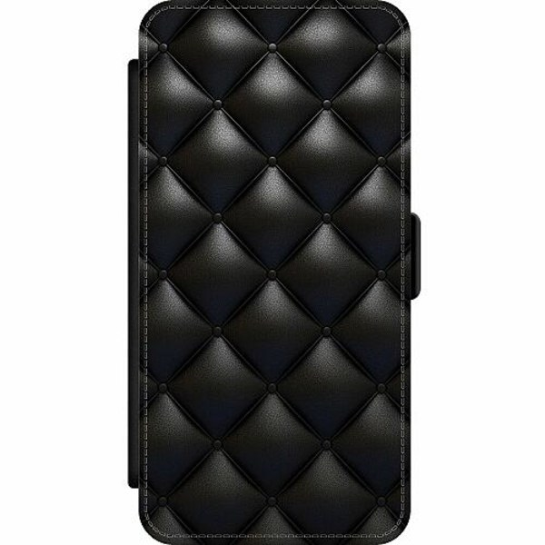 Samsung Galaxy S20 Ultra Wallet Slim Case Leather Black