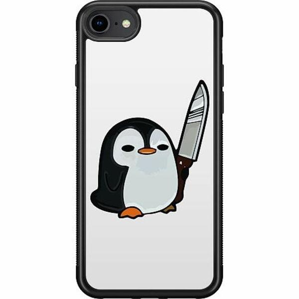 Apple iPhone SE (2020) Soft Case (Svart) Kawaii