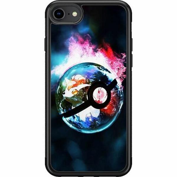 Apple iPhone 8 Soft Case (Svart) Pokémon GO