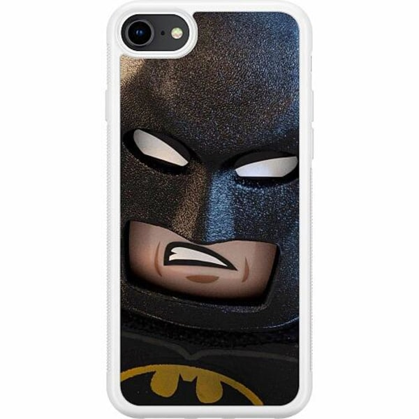 Apple iPhone 8 Soft Case (Vit) Angry