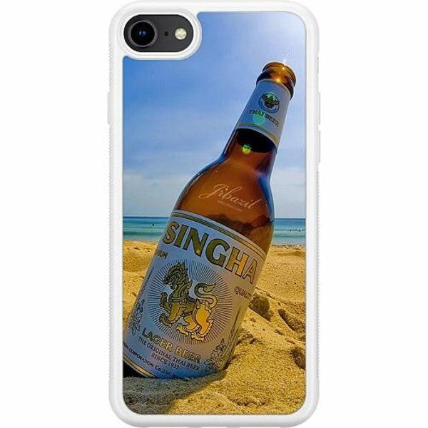 Apple iPhone 8 Soft Case (Vit) Singha
